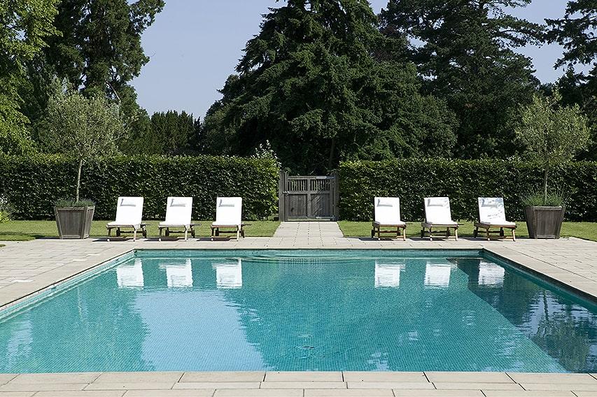00750696-Fagus-beech-hedge-privacy-formal-modern-design-estate-Pool