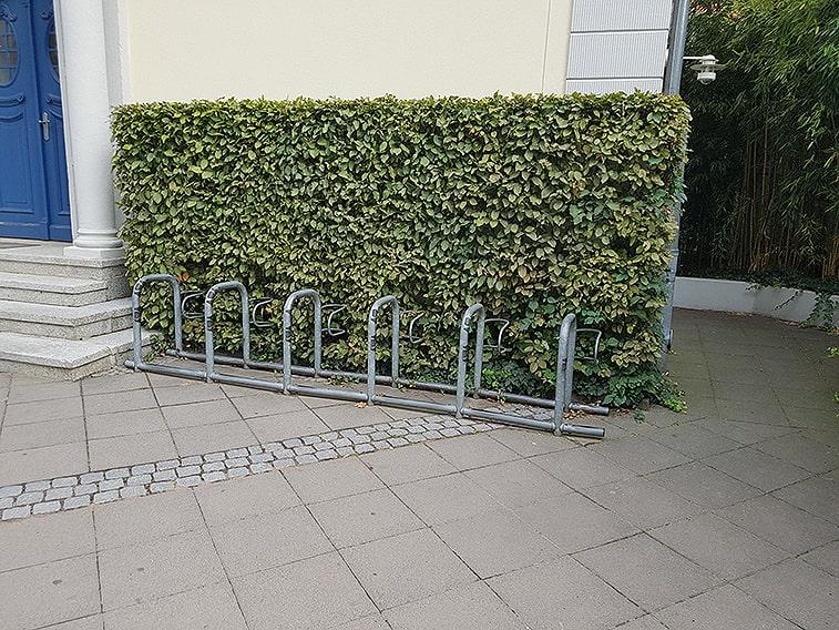 1170477094-fagus-beech-hedge-commercial-urban-city-bike-rack-green