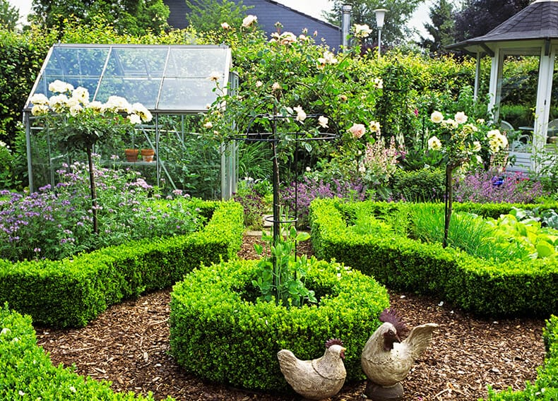 Country Garden Ideas Country Style Gardens Instanthedge
