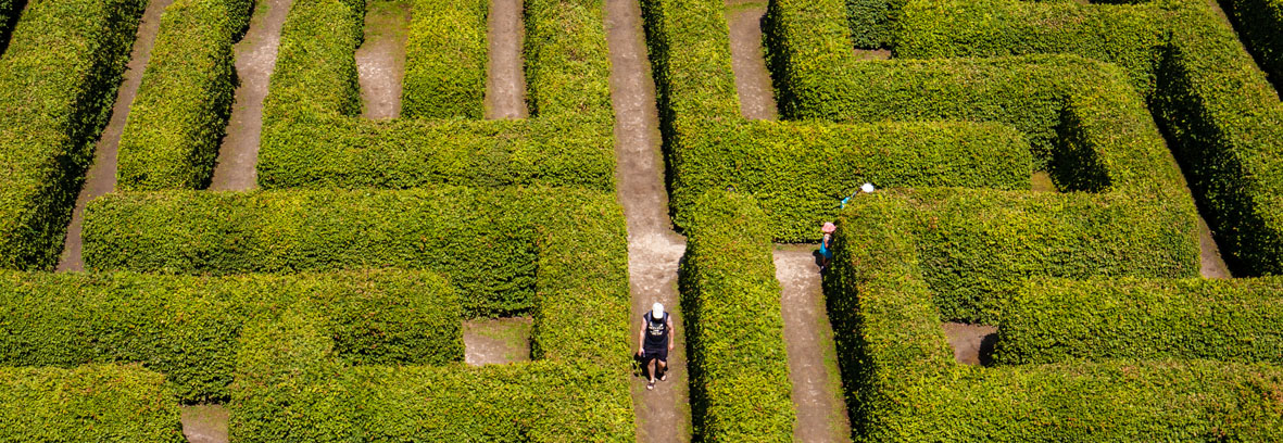 small garden maze designs and ideas. maze gardens puzzle.
