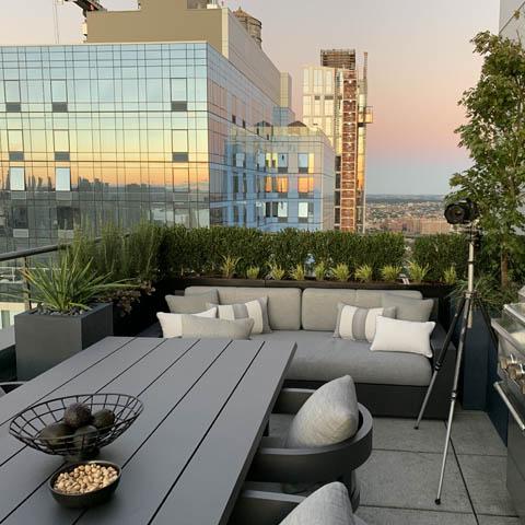 September 2019 Brooklyn, NY rooftop